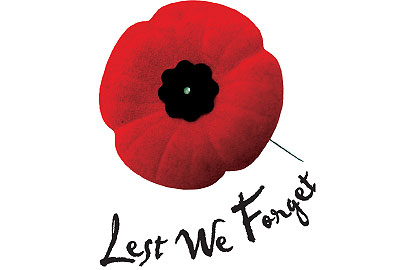 Remembrance Day Ceremony in Sundre